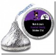 Trendy Witch - Hershey Kiss Halloween Sticker Labels thumbnail