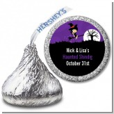 Trendy Witch - Hershey Kiss Halloween Sticker Labels