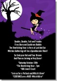 Trendy Witch - Halloween Invitations