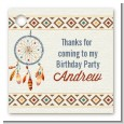 Dream Catcher - Personalized Birthday Party Card Stock Favor Tags thumbnail