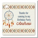 Dream Catcher - Personalized Birthday Party Card Stock Favor Tags