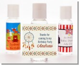 Dream Catcher - Personalized Birthday Party Hand Sanitizers Favors
