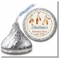 Dream Catcher - Hershey Kiss Birthday Party Sticker Labels thumbnail