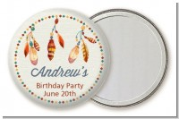 Dream Catcher - Personalized Birthday Party Pocket Mirror Favors