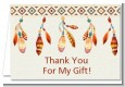 Dream Catcher - Birthday Party Thank You Cards thumbnail