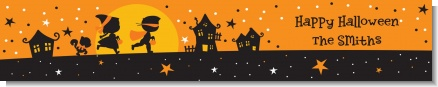 Trick or Treat - Personalized Halloween Banners