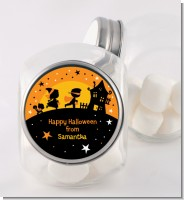 Trick or Treat - Personalized Halloween Candy Jar