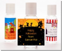 Trick or Treat - Personalized Halloween Hand Sanitizers Favors