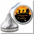 Trick or Treat - Hershey Kiss Halloween Sticker Labels thumbnail