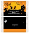 Trick or Treat - Personalized Popcorn Wrapper Halloween Favors thumbnail