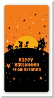 Trick or Treat - Custom Rectangle Halloween Sticker/Labels