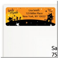 Trick or Treat - Halloween Return Address Labels