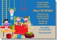 Tumble Gym - Birthday Party Invitations thumbnail