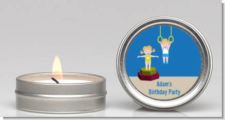 Tumble Gym - Birthday Party Candle Favors
