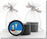 Tumble Gym - Birthday Party Black Candle Tin Favors
