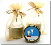 Tumble Gym - Birthday Party Gold Tin Candle Favors