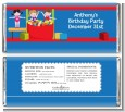 Tumble Gym - Personalized Birthday Party Candy Bar Wrappers thumbnail