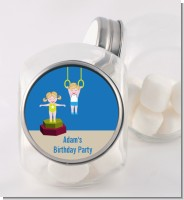 Tumble Gym - Personalized Birthday Party Candy Jar