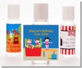 Tumble Gym - Personalized Birthday Party Hand Sanitizers Favors