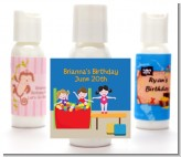 Tumble Gym - Personalized Birthday Party Lotion Favors