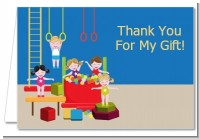 Tumble Gym - Birthday Party Thank You Cards