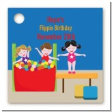 Tumble Gym - Personalized Birthday Party Card Stock Favor Tags