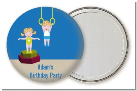Tumble Gym - Personalized Birthday Party Pocket Mirror Favors