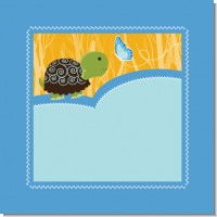 Baby Turtle Blue Baby Shower Theme