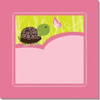 Baby Turtle Pink Baby Shower Theme