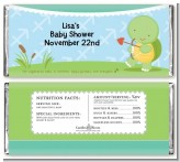 Turtle | Sagittarius Horoscope - Personalized Baby Shower Candy Bar Wrappers