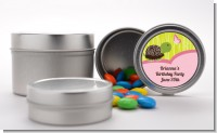 Turtle Girl - Custom Birthday Party Favor Tins