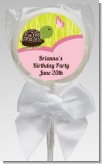 Turtle Girl - Personalized Birthday Party Lollipop Favors