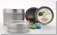 Turtle Neutral - Custom Birthday Party Favor Tins