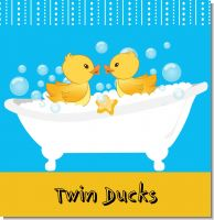 Twin Duck Baby Shower Theme