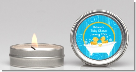 Twin Duck - Baby Shower Candle Favors