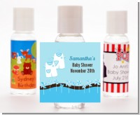 Twin Little Boy Outfits - Personalized Baby Shower Hand Sanitizers Favors
