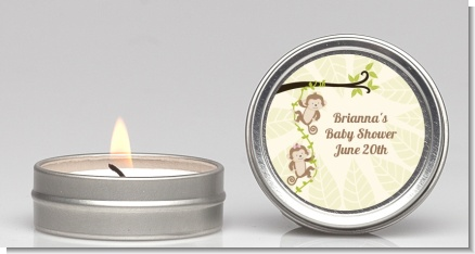 Twin Monkey - Baby Shower Candle Favors