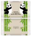 Twin Pandas - Personalized Popcorn Wrapper Baby Shower Favors thumbnail