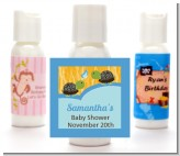 Twin Turtle Boys - Personalized Baby Shower Lotion Favors