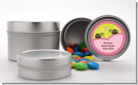 Twin Turtle Girls - Custom Baby Shower Favor Tins