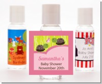 Twin Turtle Girls - Personalized Baby Shower Hand Sanitizers Favors