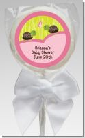 Twin Turtle Girls - Personalized Baby Shower Lollipop Favors