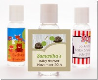 Twin Turtles - Personalized Baby Shower Hand Sanitizers Favors