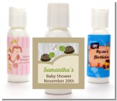 Twin Turtles - Personalized Baby Shower Lotion Favors