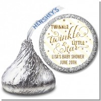 Twinkle Little Star - Hershey Kiss Baby Shower Sticker Labels