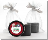 Ugly Sweater - Christmas Black Candle Tin Favors