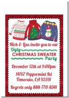 Ugly Sweater - Christmas Petite Invitations