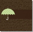 Baby Sprinkle Umbrella Green Baby Shower Theme thumbnail