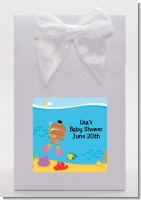 Under the Sea African American Baby Girl Snorkeling - Baby Shower Goodie Bags