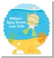 Under the Sea Baby Snorkeling - Personalized Baby Shower Centerpiece Stand thumbnail